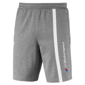 Thumbnail 4 of BMW Motorsport Men's Sweat Shorts, Medium Gray Heather, medium