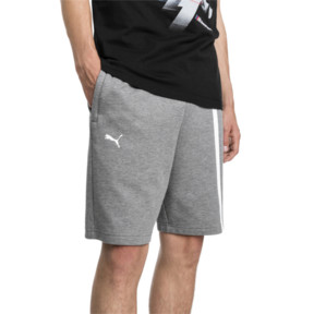 Thumbnail 1 of BMW Motorsport Men's Sweat Shorts, Medium Gray Heather, medium