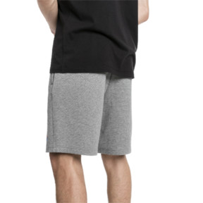 Thumbnail 2 of BMW Motorsport Men's Sweat Shorts, Medium Gray Heather, medium