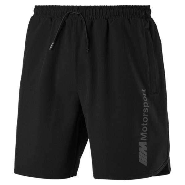 BMW M Motorsport Men's Tech Shorts, Puma Black, large
