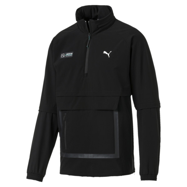 Mercedes AMG RCT Men's Jacket, Puma Black, large