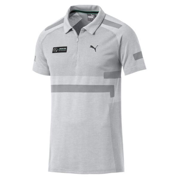 Mercedes AMG Petronas evoKNIT Polo, Mercedes Team Silver, large