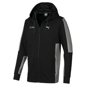 Thumbnail 1 of Mercedes AMG Petronas Motorsport Men's Sweat Jacket, Puma Black, medium