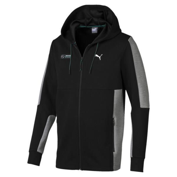 Mercedes AMG Petronas Motorsport Men's Sweat Jacket, Puma Black, large