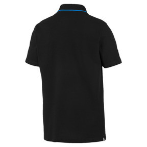 Thumbnail 2 of MERCEDES AMG PETRONAS Men's Polo Shirt, Puma Black, medium