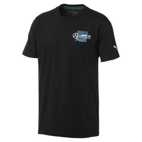 Thumbnail 1 of Mercedes AMG Petronas Motorsport Logo Men's Tee, Puma Black, medium
