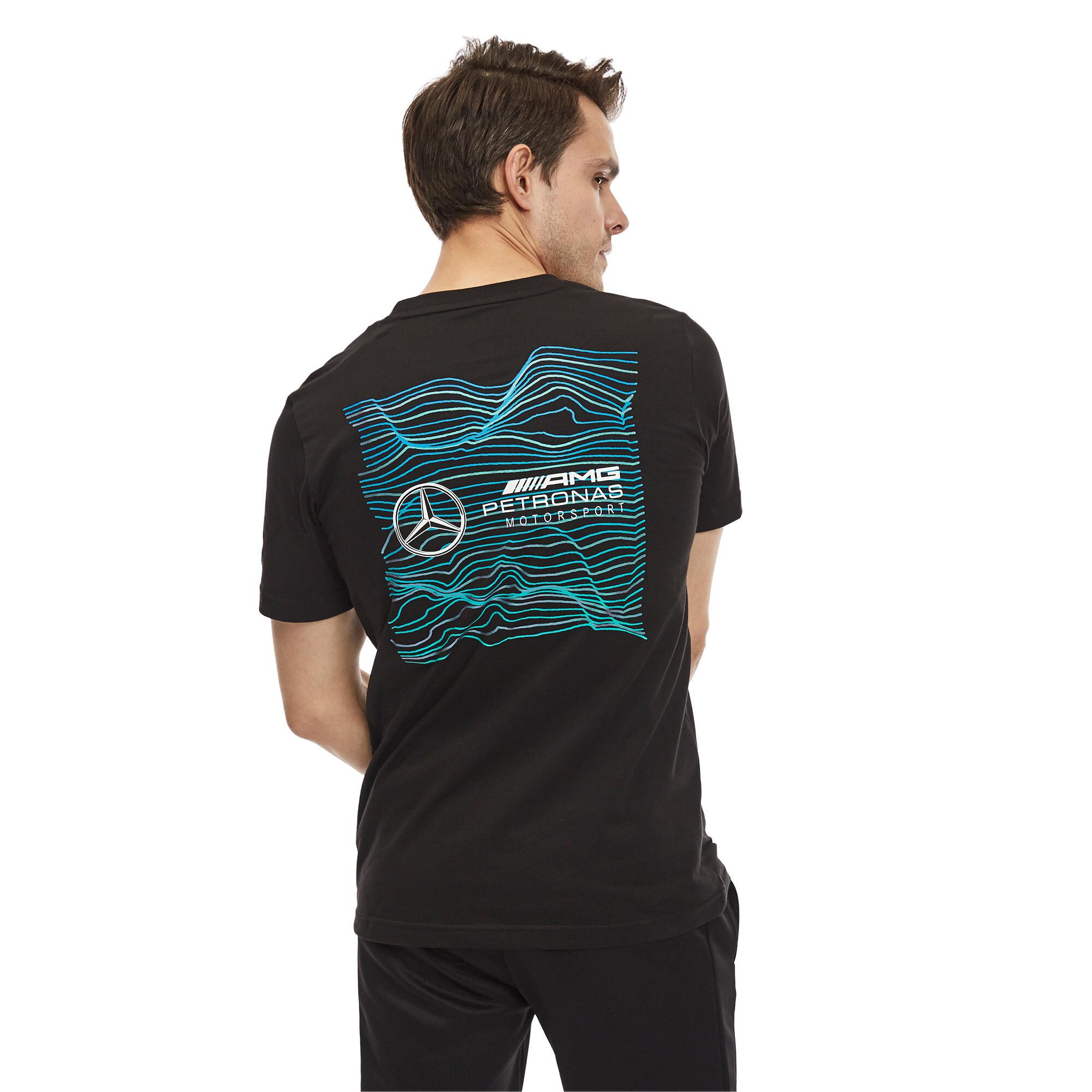 Image Puma Mercedes AMG Petronas Motorsport Logo Men's Tee #2