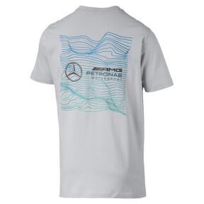 Thumbnail 2 of Mercedes AMG Petronas Motorsport Logo Men's Tee, Mercedes Team Silver, medium