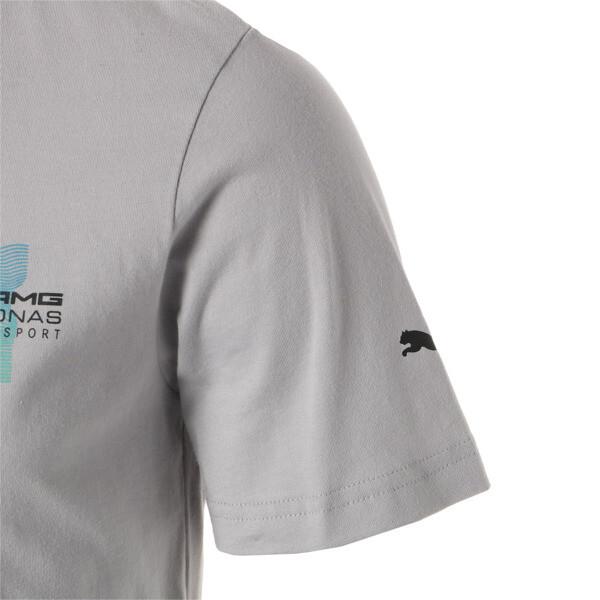 MERCEDES AMG PETRONAS MOTORSPORT ロゴ Tシャツ +, Mercedes Team Silver, large-JPN