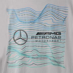 Thumbnail 8 of MERCEDES AMG PETRONAS MOTORSPORT ロゴ Tシャツ +, Mercedes Team Silver, medium-JPN