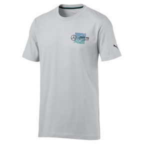 Thumbnail 1 of T-Shirt Mercedes AMG Petronas Motorsport Logo pour homme, Mercedes Team Silver, medium