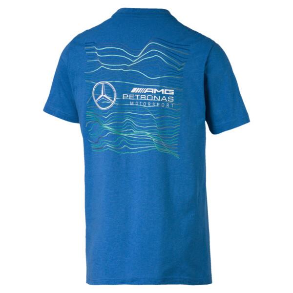 Mercedes AMG Petronas Logo Tee +, Indigo Bunting Heather, large