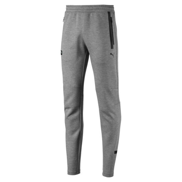 Pantalon de survêtement tricoté Mercedes AMG Petronas pour homme, Medium Gray Heather, large