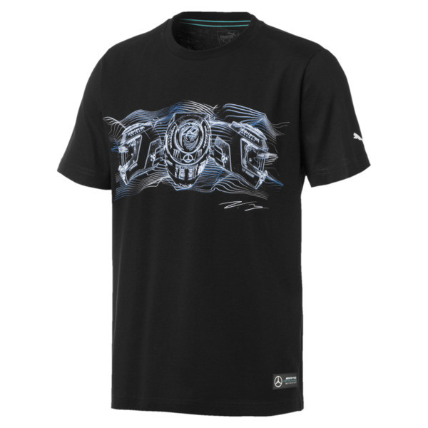 Mercedes AMG Petronas Graphic Tee driver 2, Puma Black, large