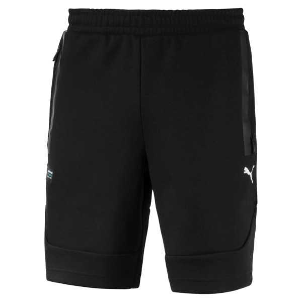 Mercedes AMG Petronas Men's Sweat Shorts, Puma Black, large