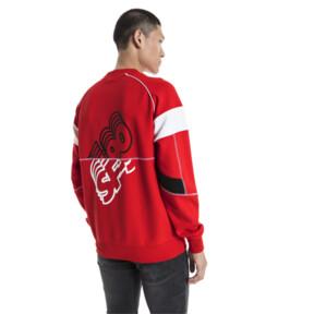 Thumbnail 2 of Ferrari Street Men's Sweater, Rosso Corsa, medium
