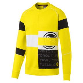 Thumbnail 4 of Ferrari Street Men's Sweater, Blazing Yellow, medium