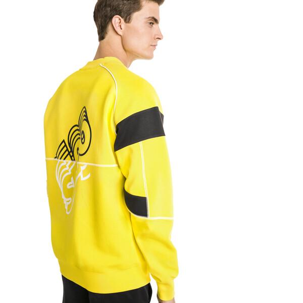 Ferrari Street Men's Sweater, Blazing Yellow, large