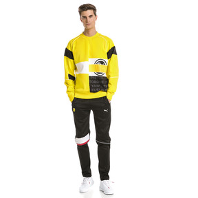 Thumbnail 3 of Ferrari Street Men's Sweater, Blazing Yellow, medium