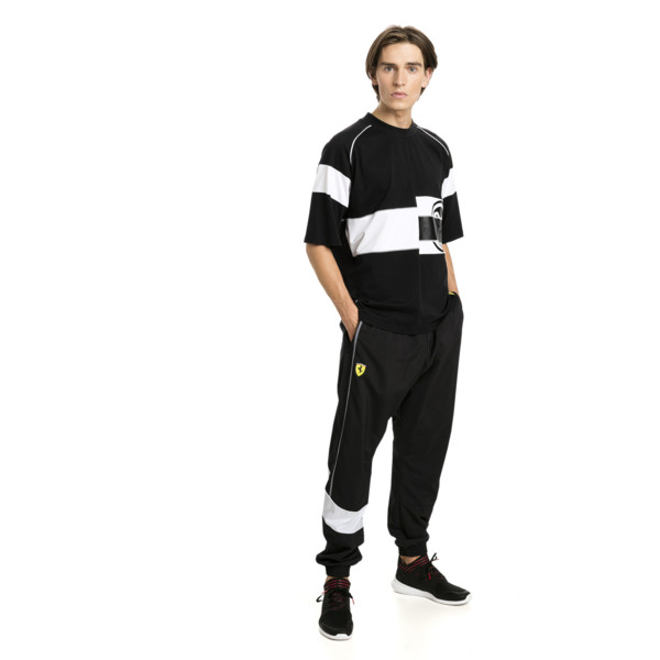 Ferrari T-shirt voor mannen, Puma Black, large