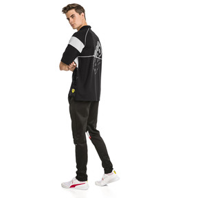 Thumbnail 3 of Ferrari Street Men's Polo, Puma Black, medium
