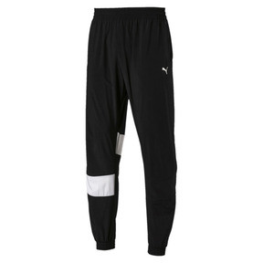 Thumbnail 4 of Ferrari Street Woven Men's Pants, Puma Black, medium
