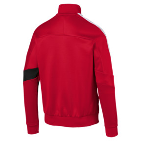 Thumbnail 5 of Ferrari T7 Men's Track Jacket, Rosso Corsa, medium