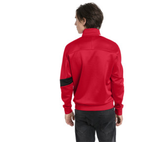 Thumbnail 2 of Scuderia Ferrari Men's T7 Track Jacket, Rosso Corsa, medium