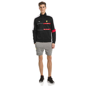 Thumbnail 3 of Ferrari T7 Men's Track Jacket, Puma Black, medium
