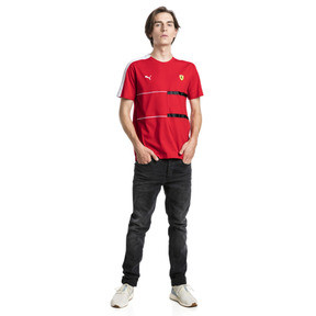 Thumbnail 3 of Ferrari T7 Men's Tee, Rosso Corsa, medium