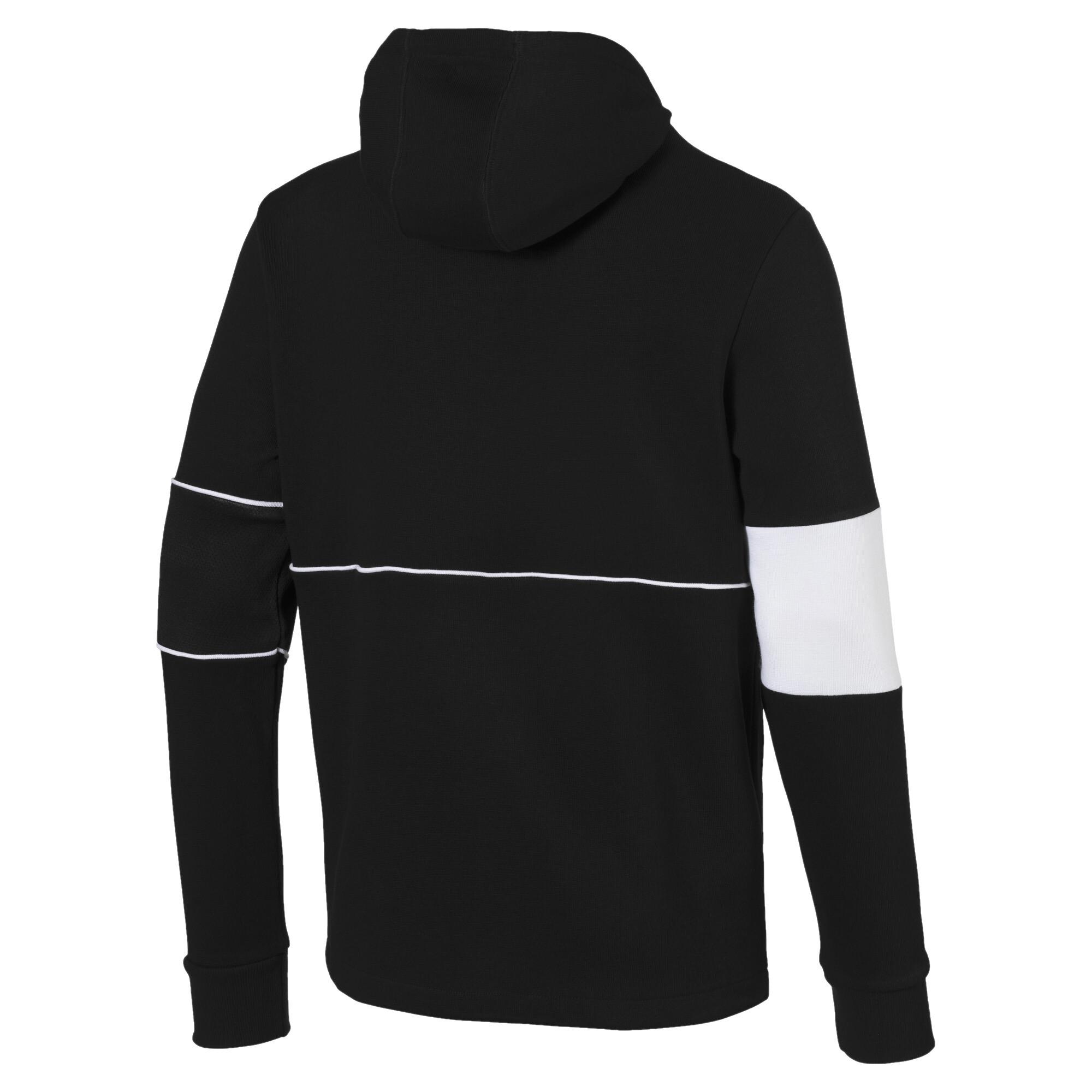 Image Puma Ferrari Hooded Zip-Up Men's Jacket #5