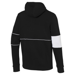 Thumbnail 5 of Ferrari Hooded Zip-Up Men's Jacket, Puma Black, medium