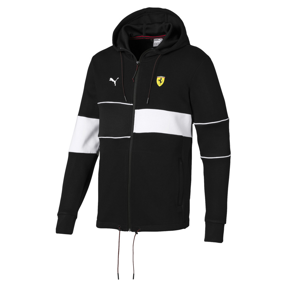 Image PUMA Ferrari Hooded Zip-Up Men's Jacket #1