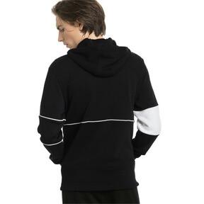 Thumbnail 2 of Ferrari Hooded Zip-Up Men's Jacket, Puma Black, medium