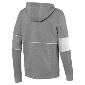 Thumbnail 5 of Ferrari Hooded Zip-Up Men's Jacket, Medium Gray Heather, medium