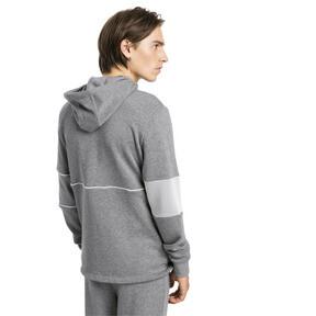 Thumbnail 2 of Ferrari Hooded Zip-Up Men's Jacket, Medium Gray Heather, medium