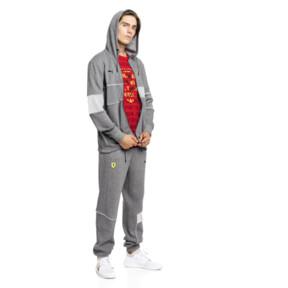 Thumbnail 3 of Ferrari Hooded Zip-Up Men's Jacket, Medium Gray Heather, medium