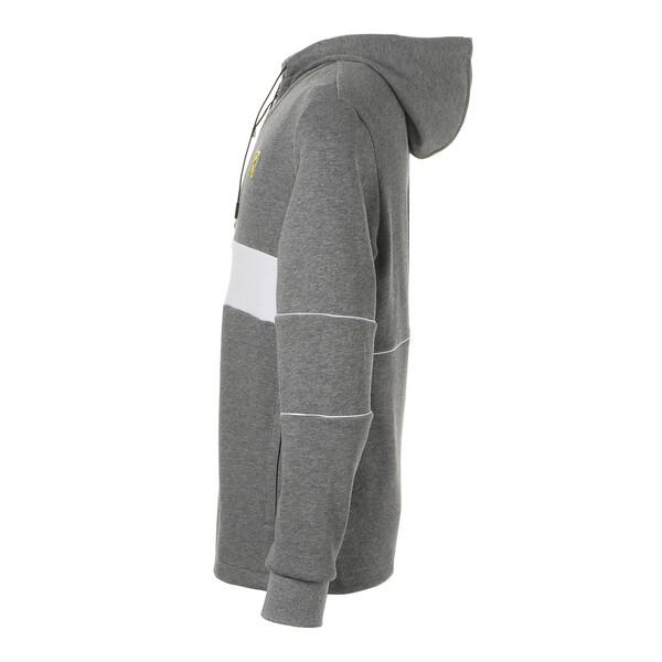 フェラーリ フーデッド スウェット ジャケット, Medium Gray Heather, large-JPN