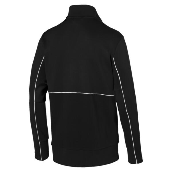 Ferrari Men's Sweat Jacket, Puma Black, large