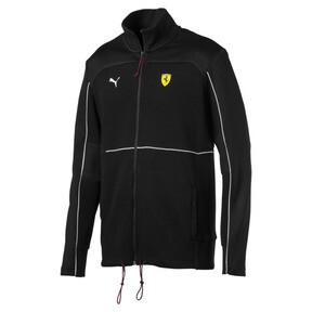 Thumbnail 4 of Ferrari Men's Sweat Jacket, Puma Black, medium