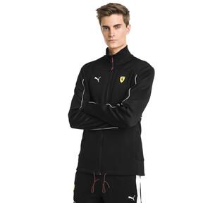 Thumbnail 1 of Ferrari Men's Sweat Jacket, Puma Black, medium