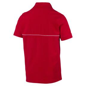 Thumbnail 5 of Ferrari Men's Branded Polo Shirt, Rosso Corsa, medium