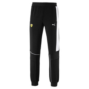 Thumbnail 4 of Ferrari Knitted Men's Sweatpants, Puma Black, medium