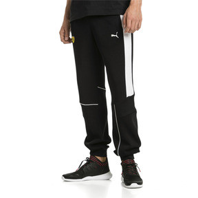 Thumbnail 1 of Ferrari Knitted Men's Sweatpants, Puma Black, medium