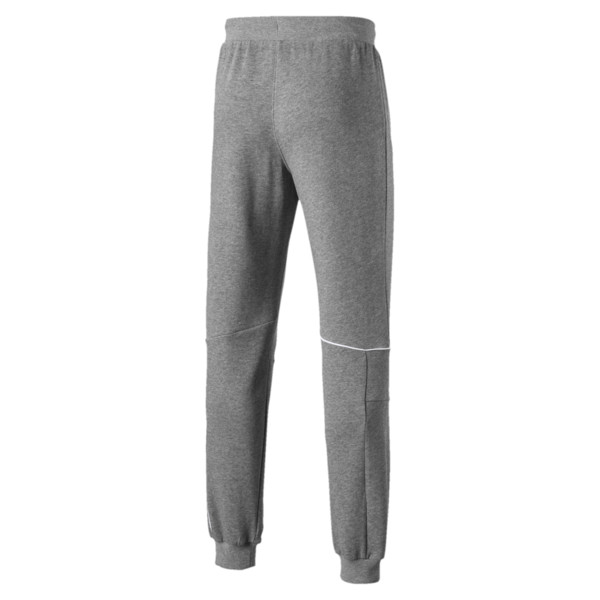 Scuderia Ferrari Men's Sweatpants, Medium Gray Heather, large