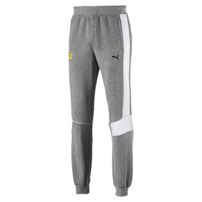 Thumbnail 4 of Ferrari Herren Gestrickte Sweatpants, Medium Gray Heather, medium