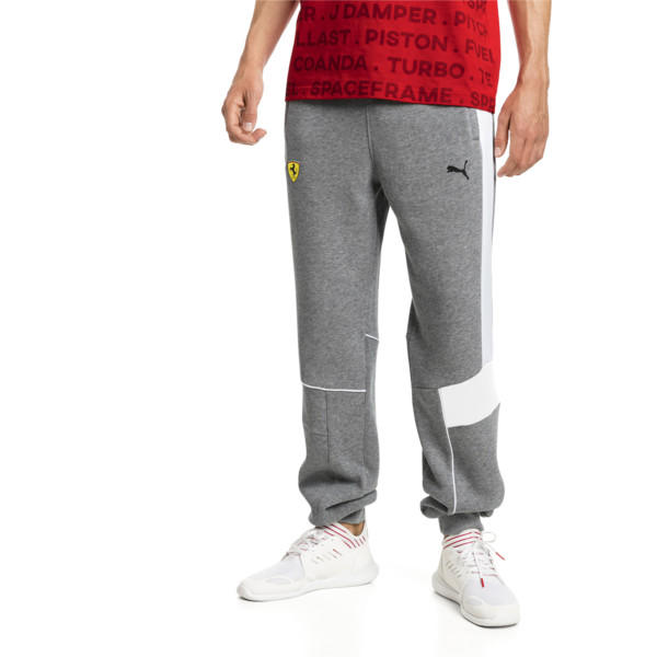 Ferrari Herren Gestrickte Sweatpants, Medium Gray Heather, large