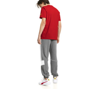 Thumbnail 2 of Ferrari Herren Gestrickte Sweatpants, Medium Gray Heather, medium