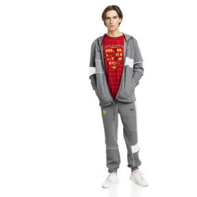 Thumbnail 3 of Scuderia Ferrari Men's Sweatpants, Medium Gray Heather, medium