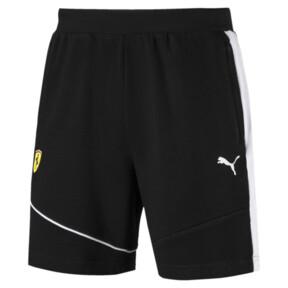 Thumbnail 1 of Scuderia Ferrari Men's Sweat Shorts, Puma Black, medium